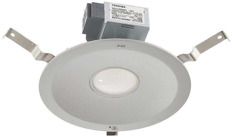 舌なめ言葉貫入東芝ライテック LED一体形 高気密SB形ダウンライト 電球色 100W 埋込穴150 シルバー