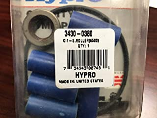 Hypro 3430-0380 Super Roller Repair Kit for Hypro 6500 Series 6-Roller Pump, Includes 6 Super Rollers, 1 O-Ring Gasket and 2 Viton Seals, 8 Ounce