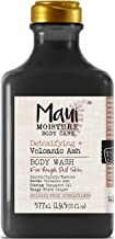 Maui Moisture Body Wash Volcanic Ash 19.5 Ounce Rough Skin (577ml) (2 Pack)