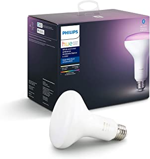 Philips Hue White and Color Ambiance BR30 LED Smart Bulb,...
