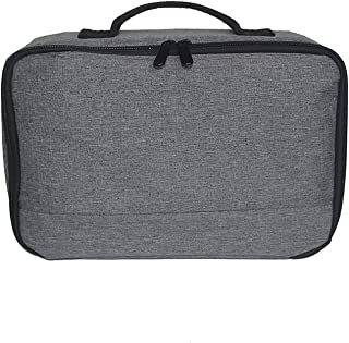 Andoer Portable Grey Projector Storage Bag Case Universal Carrying Bag Travel Storage Organizer for Projectors and Accesso...