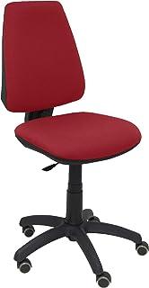 PIQUERAS Y CRESPO 14CP–Chaise de Bureau Ergonomique avec mécanisme Permanent, Roues de parquet, Tissu Bali