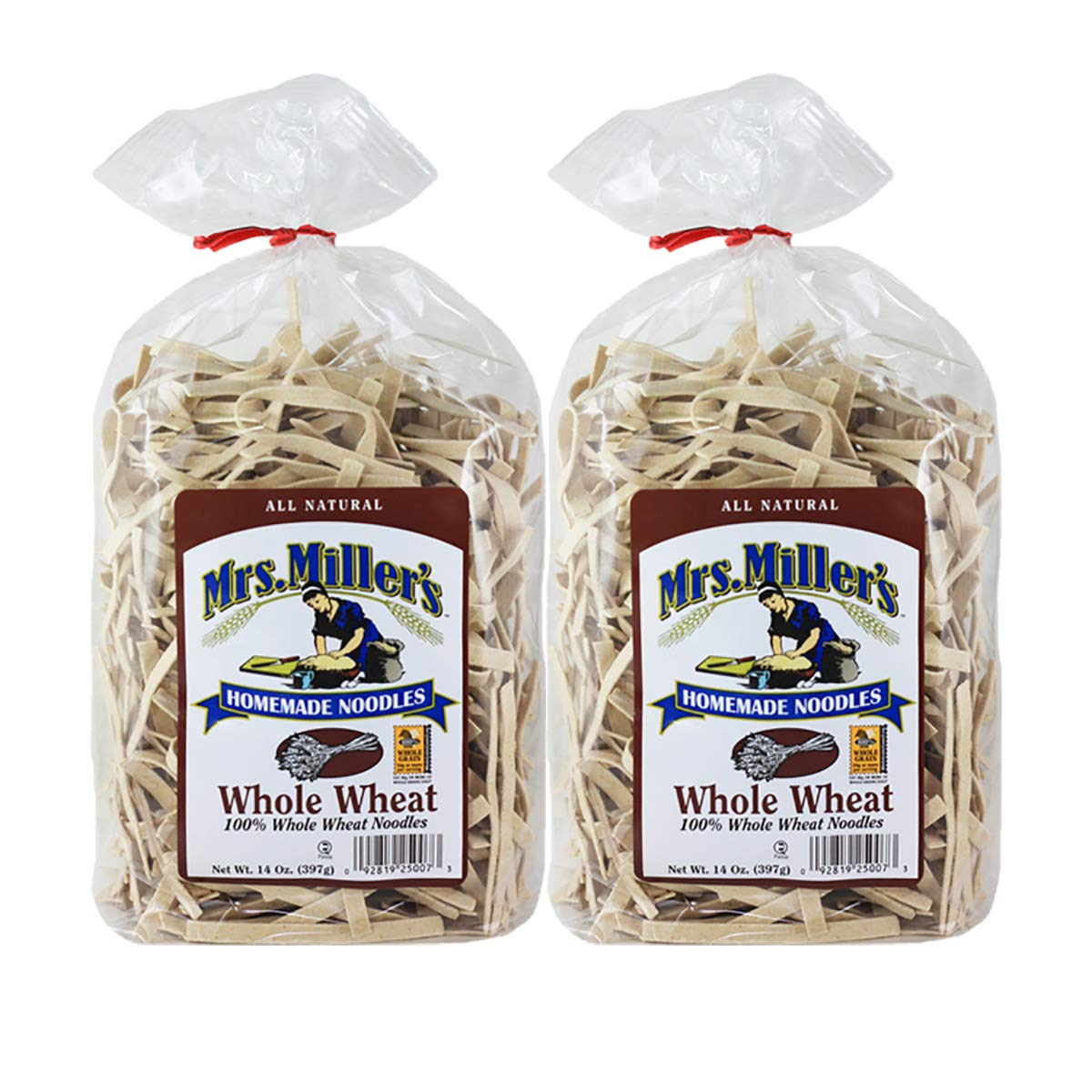 Mrs. Millers Homemade Whole Popular product Wheat Noodles Ranking TOP14 oz. 2 Bags 14 Bag
