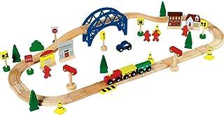 comprar comparacion Chad Valley 60 Piece Train Set. Toy