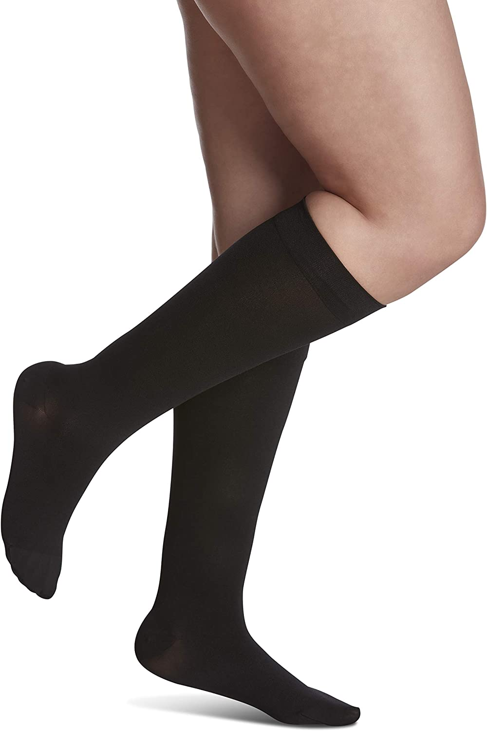 online shop SIGVARIS Women's Style Limited Special Price Soft Opaque Sock Closed 840 Toe Calf-High