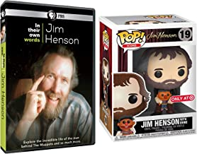 Ernie & Jim Icons PBS Documentary Jim Henson DVD with Funko Exclusive Figure with Ernie from Sesame Street