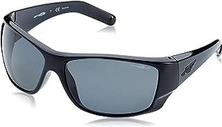 Arnette Heist 2.0 AN4215 41/81 Polished Black/Grey Men's Polarised Sunglasses