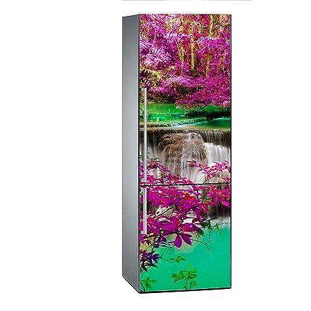 Oedim Vinilo para Frigor/ífico P/étalos de Flor Rosa 185x60cm Adhesivo Resistente y Econ/ómico Pegatina Adhesiva Decorativa de Dise/ño Elegante