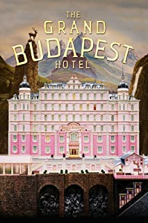 JIONK The Grand Budapest Hotel Movie Poster 24X36''