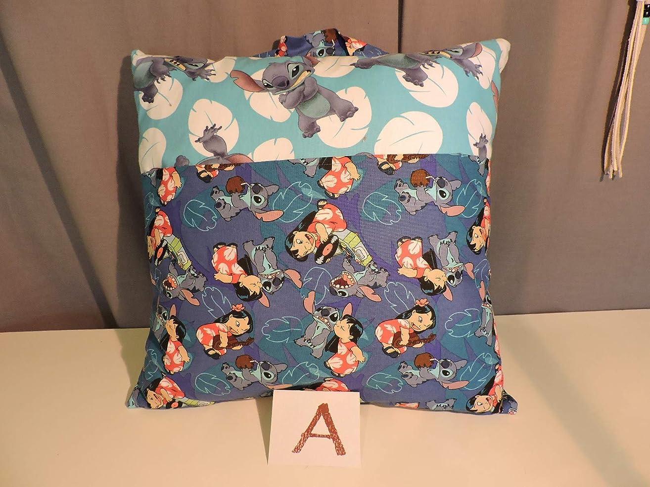 Lilo & Stitch Reader Pillow; Child's Pillow; Pocket Pillow - 16