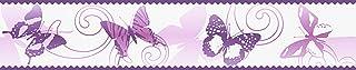 A.S. Création cenefa autoadhesivo Stick Ups lila 5,00 m x 0,10 m 901224