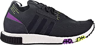 adidas NMD_Racer PK Men's Shoes Carbon/Core Black/Solar Yellow b37640