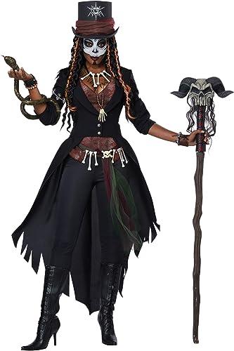 Woherren Voodoo Magic Fancy Dress Costume X-Small