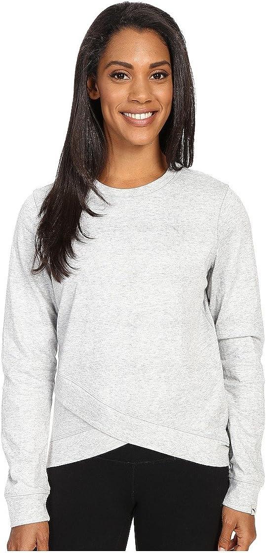 PUMA Women's Style Personal Best Crewneck Sweatshirt