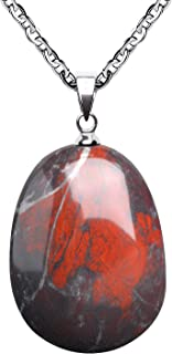 Best gemstone drop necklace Reviews