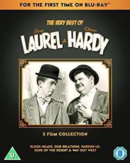 The Very Best Of Laurel & Hardy: Block-Heads, Our Relations, Pardon Us, Sons of the Desert, Way Out West, Another Fine Mes...