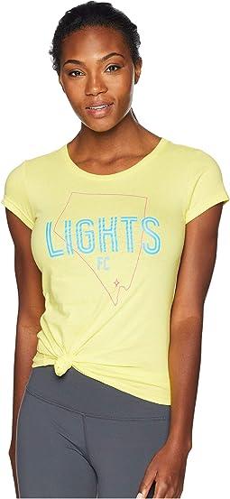 Las Vegas Lights FC State Tee
