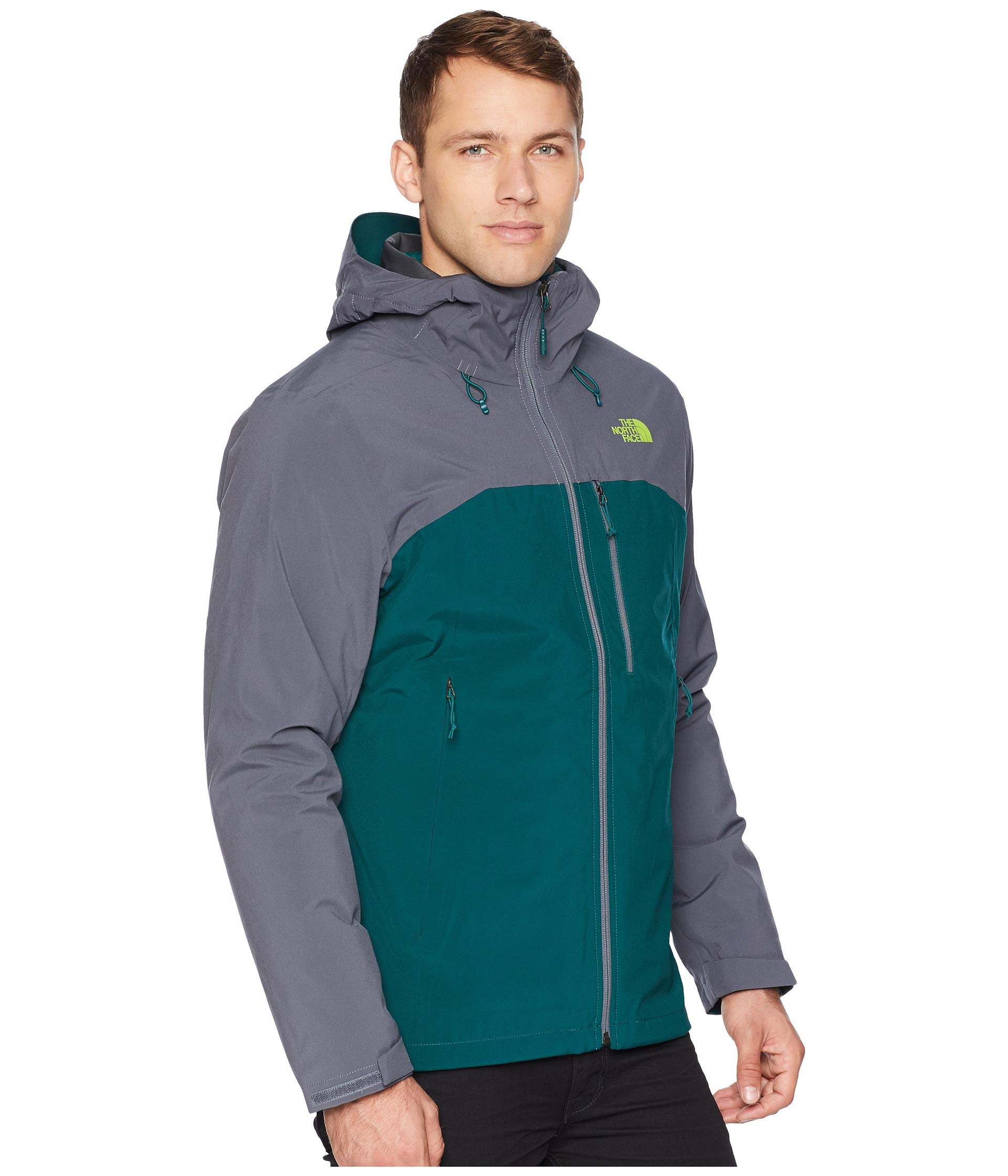 Jacket North vanadis Botanical Green Triclimate® Garden The Thermoball® Grey Face q7wSIBTq1