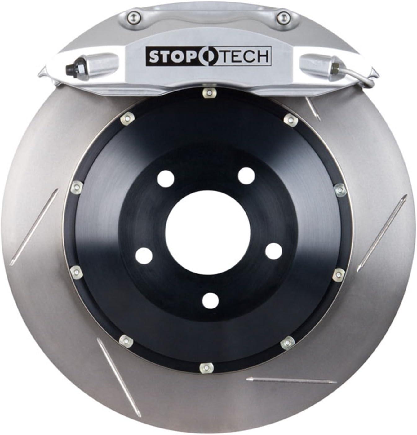 Nippon regular agency StopTech 83.112.4700.61 Same day shipping Big Brake Rotor Front Kit Piece 2 1