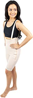 Mid Thigh Body Shaper Suspenders Great for Tummy Tuck, Mommy Makeover-Style 34Z