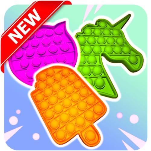 POP IT Fidget Trading 3D Master Bubble 🗯 Push POPOP - Fidget Toys Anti stress & Calm