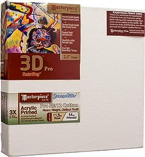 "Masterpiece Artist Canvas 45805 3D PRO 2-1/2"" Deep, 8"" x 13"", Cotton 14.0oz - 3X - Sausalito Heavy Weight"