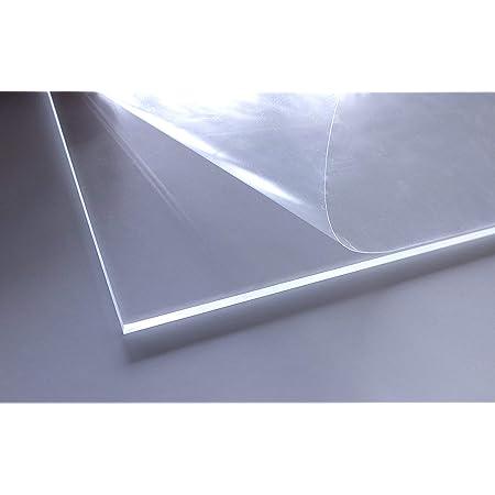 B/&T Metall PMMA Acrylglas Opal Wei/ß glatt 3,0 mm stark Milchglas Lichtdurchl/ässigkeit 78/% UV best/ändig beidseitig foliert im Zuschnitt Gr/ö/ße 10 x 30 cm 100 x 300 mm