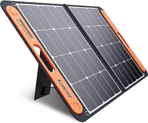 Jackery SolarSaga 60W Solar Panel for Explorer 160/240/500 as Portable Solar Generator, Portable Foldable Solar Charg...