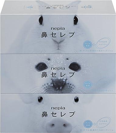 【ケース販売】 ネピア 鼻セレブ ティシュ 400枚 (200組) × 3個パック  × 10個入