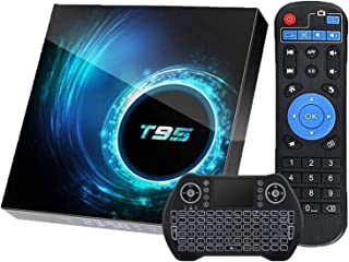 EASYTONE Android 8.1 TV Box with 4GB RAM 32GB ROM, 2018 New Android Boxes Quad Core/ 64 Bits/ BT4.0/ H.265/ 3D UHD 4K Full...
