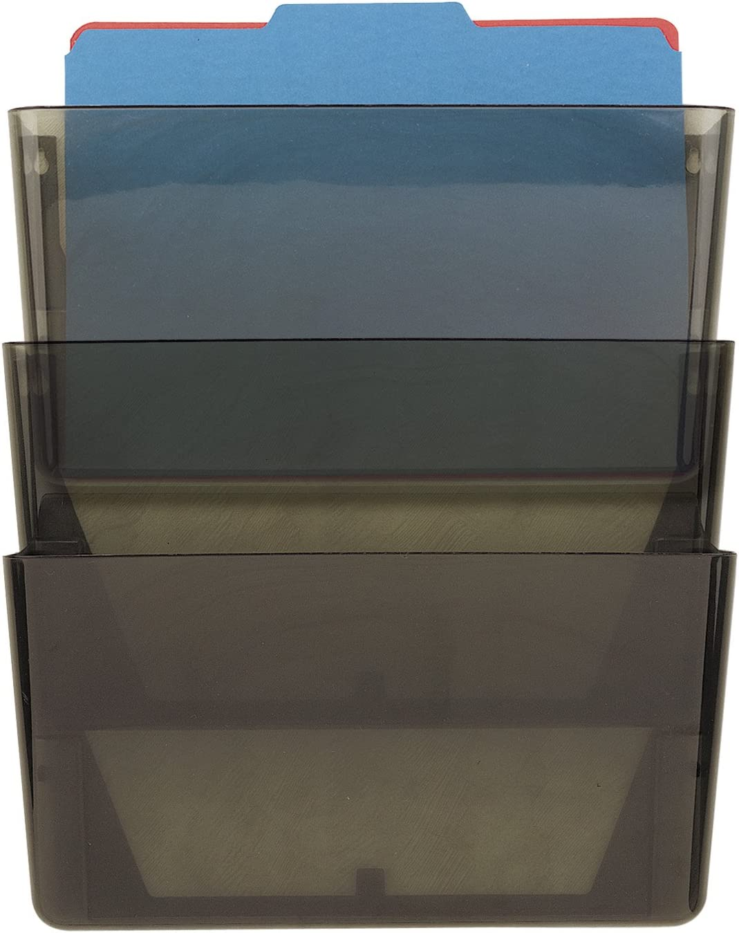 Officemate Wall File Smoke 3 of Import Set 21421 Max 46% OFF