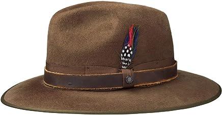 8433e095c93b57 Stetson Atla Wool Felt Filzhut Men | hat Traveller Men´s with Leather Trim,