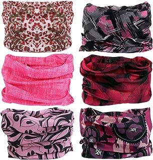 Headwear Wide Headbands Scarf Head Wrap Mask Neck Warmer
