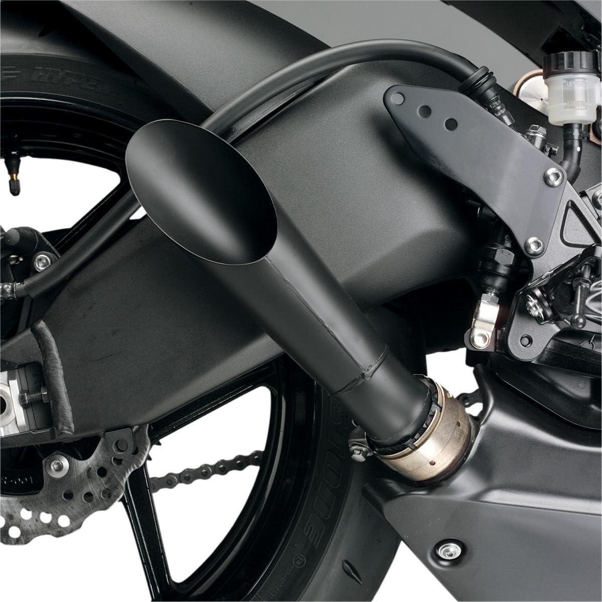 Hotbodies Store Racing Megaphone Slip-On Black Exhaust Y06R6-XSO-BLK - Import