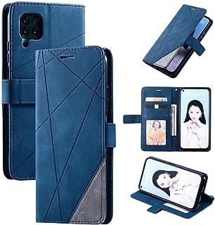 LENASH För Huawei P40 Lite Skin Feel Splicing Horisontell Flip Läderfodral med Hållare & Kortplatser & Plånbok & Fotoram F...