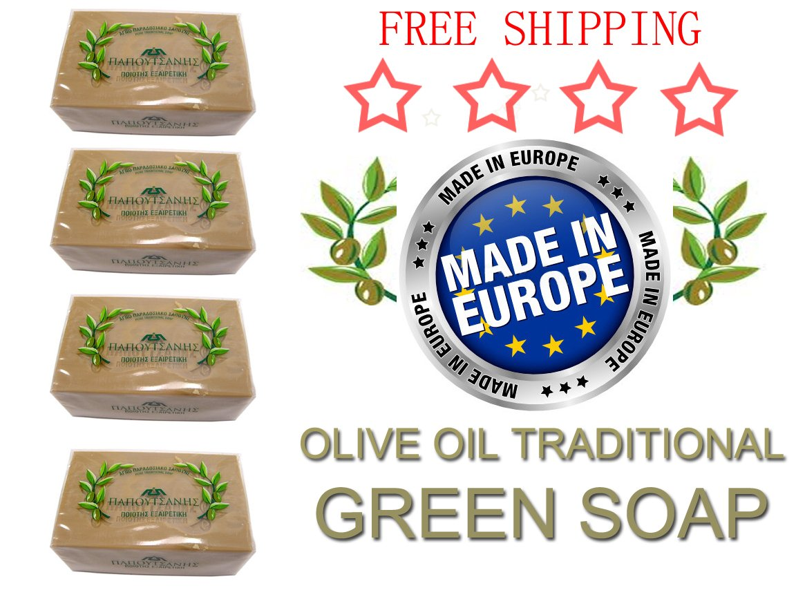 Pack Pure Traditional Olive Soap