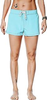Nonwe Women's Beach Shorts Quick Dry Soild Lightweight