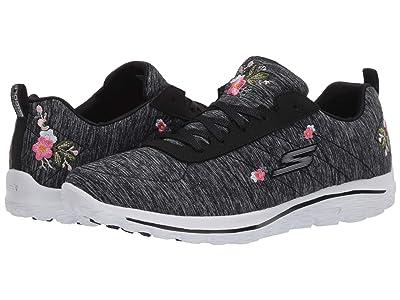 Skechers GO GOLF Go Walk Sport Bloom (Black/White) Women