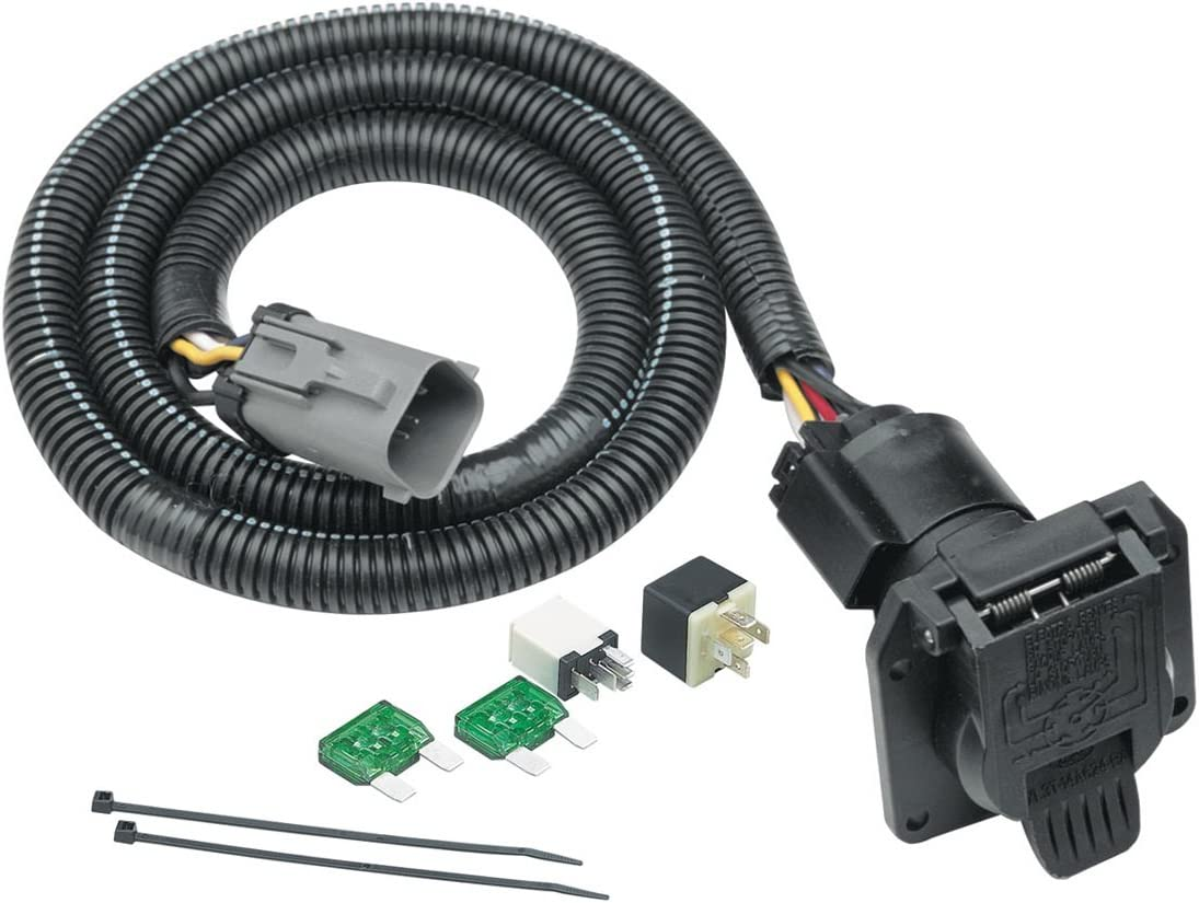 amazon.com: tekonsha 118243 7-way tow harness wiring package: automotive  amazon.com