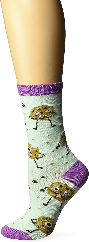 K. Bell Socks womens Food & Drink Novelty Casual Crew Socks
