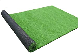 GL Artificial Grass Mats Lawn Carpet Customized Sizes, Synthetic Rug Indoor Outdoor Landscape, Fake Faux Turf for Decor 2FTX3FT(6 Square FT)