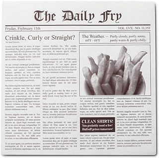 Fox Run 13200 Newsprint French Fry Hamburger Wax Paper