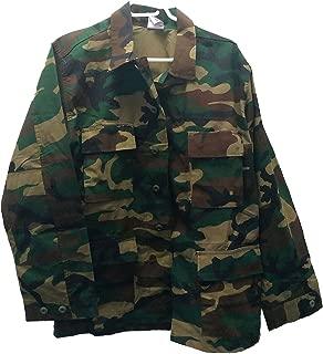 Woodland Camo BDU Field Jacket