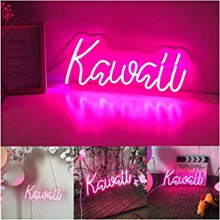 Neon Sign Custom Neon Signs Kawaii Flex Light up Text Signs for Party Wedding Home Room Decoration (Size : 40 * 18cm)