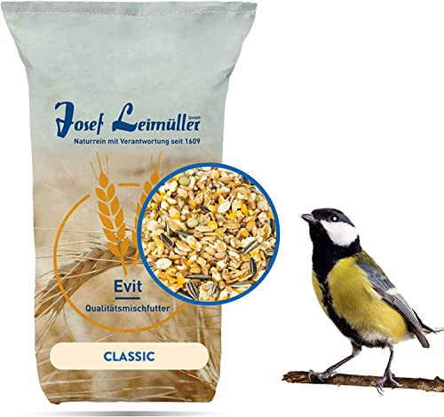 Leimüller Aliment pour Oiseaux Sauvages 25 kg | Aliment dispersé pour Toute l'année | Mélange de céréales de Haute qu...