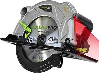 GALAX PRO Circular Saw 2000W, 5000RPM Circular Saws, Cutting 85mm (90º),56mm (45º), 235mm Saw Blade, Laser Guide, Double S...