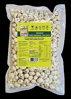 Pravin Raw Makhana 100 gm (Pack of 10)