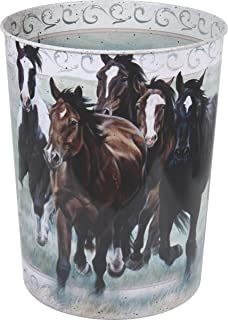 River's Edge Products Horse Themed Waste Basket