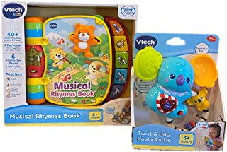 VTECH Bundle with Twist and Hug Koala Rattle and Musical Rhymes Book (3-6 Months)