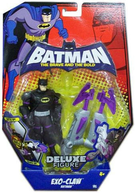 Batman The Brave and the Bold Exo-Claw Batman B001T09X6M Lebendige Form  | Clever und praktisch